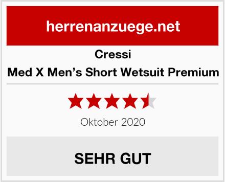Cressi Med X Men's Short Wetsuit Premium Test