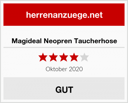 Magideal Neopren Taucherhose Test