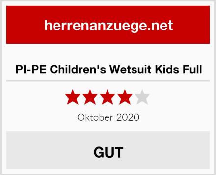 PI-PE Children's Wetsuit Kids Full Test