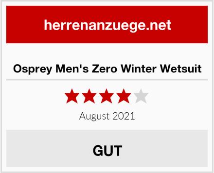 Osprey Men's Zero Winter Wetsuit Test