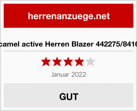 camel active Herren Blazer 442275/8416 Test