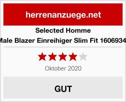 Selected Homme Male Blazer Einreihiger Slim Fit 16069343 Test
