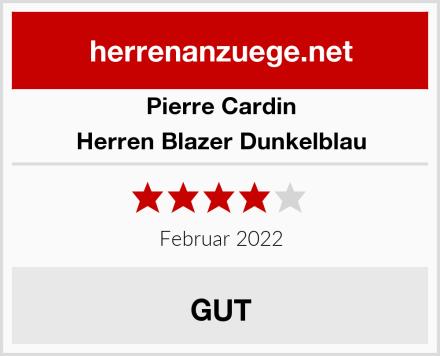 Pierre Cardin Herren Blazer Dunkelblau Test