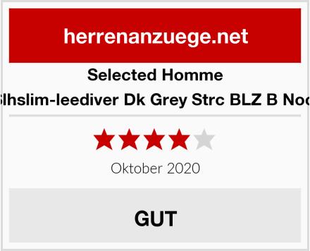 Selected Homme Herren Slhslim-leediver Dk Grey Strc BLZ B Noos Blazer Test