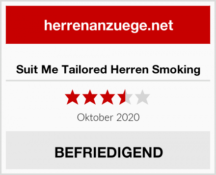 Suit Me Tailored Herren Smoking Test