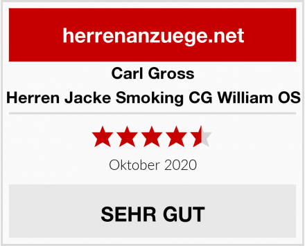 Carl Gross Herren Jacke Smoking CG William OS Test
