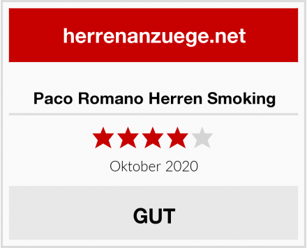 Paco Romano Herren Smoking Test