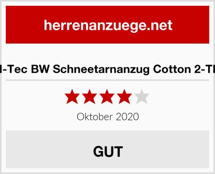 Mil-Tec BW Schneetarnanzug Cotton 2-TLG. Test
