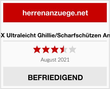 BE-X Ultraleicht Ghillie/Scharfschützen Anzug Test