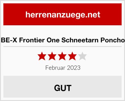 BE-X Frontier One Schneetarn Poncho Test