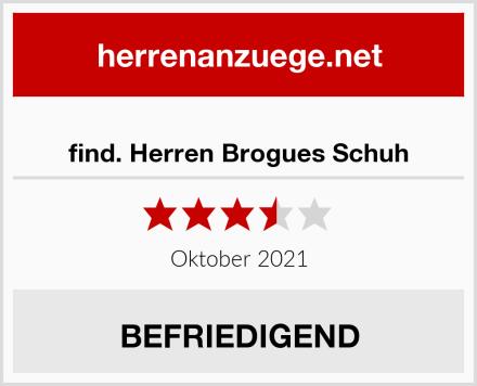 find. Herren Brogues Schuh Test