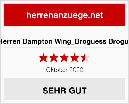 Clarks Herren Bampton Wing_Broguess Brogue Schuh Test