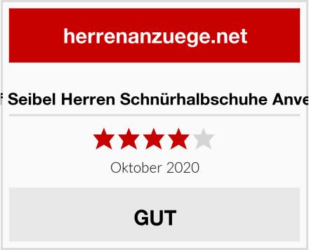 Josef Seibel Herren Schnürhalbschuhe Anvers 08 Test