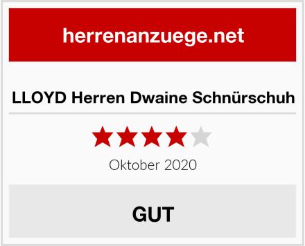 LLOYD Herren Dwaine Schnürschuh Test