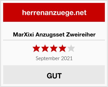 MarXixi Anzugsset Zweireiher Test