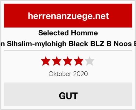 Selected Homme Herren Slhslim-mylohigh Black BLZ B Noos Blazer Test