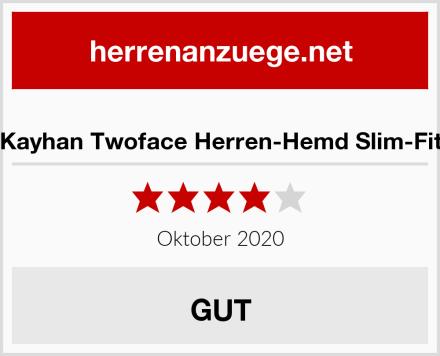 Kayhan Twoface Herren-Hemd Slim-Fit Test