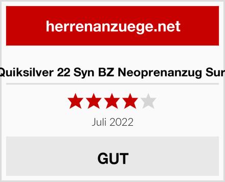 Quiksilver 22 Syn BZ Neoprenanzug Surf Test
