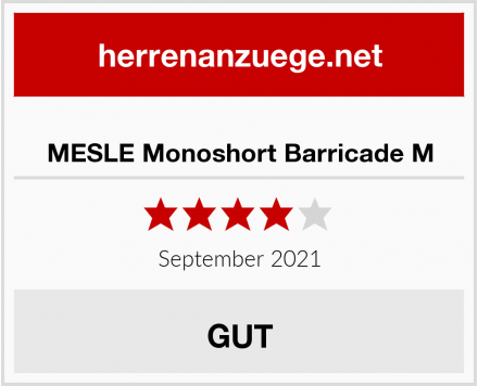 MESLE Monoshort Barricade M Test