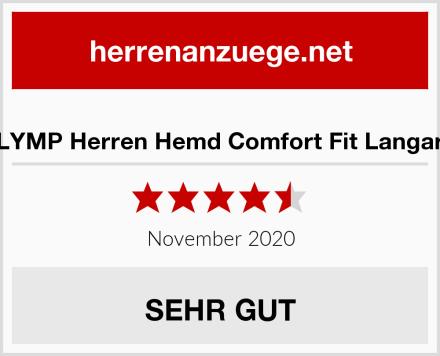 OLYMP Herren Hemd Comfort Fit Langarm Test
