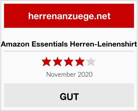 Amazon Essentials Herren-Leinenshirt Test