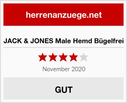 JACK & JONES Male Hemd Bügelfrei Test