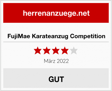 FujiMae Karateanzug Competition Test