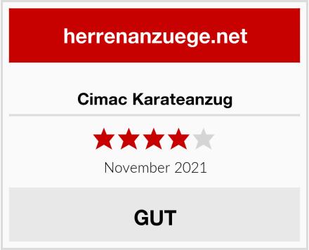 Cimac Karateanzug Test