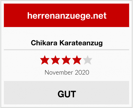 Chikara Karateanzug Test