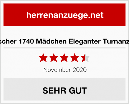 Fischer 1740 Mädchen Eleganter Turnanzug Test