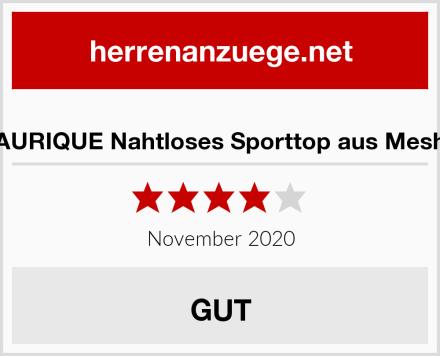 AURIQUE Nahtloses Sporttop aus Mesh Test