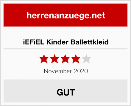 iEFiEL Kinder Ballettkleid Test