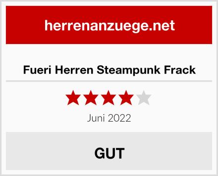 Fueri Herren Steampunk Frack Test