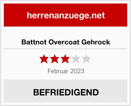 Battnot Overcoat Gehrock Test