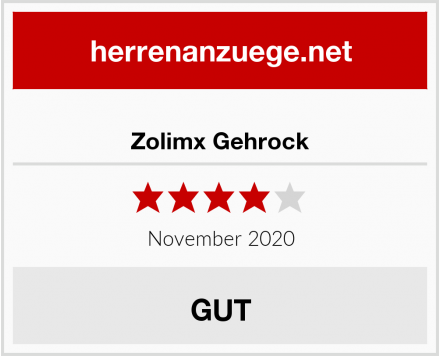 Zolimx Gehrock Test
