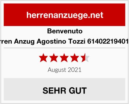 Benvenuto Herren Anzug Agostino Tozzi 61402219401254 Test