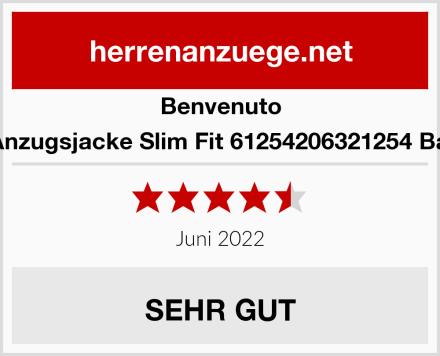 Benvenuto Herren Anzugsjacke Slim Fit 61254206321254 Baukasten Test