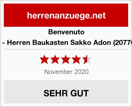 Benvenuto Purple - Slim Fit - Herren Baukasten Sakko Adon (20776, Modell: 61350) Test