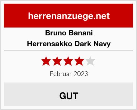 Bruno Banani Herrensakko Dark Navy Test