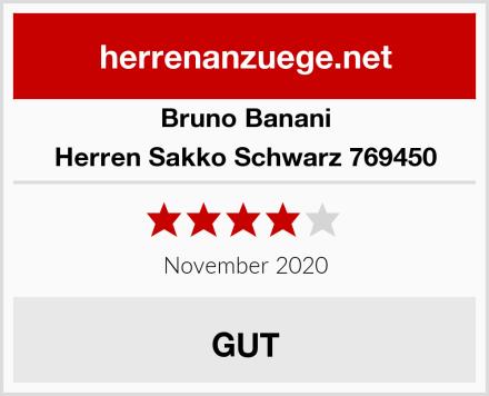 Bruno Banani Herren Sakko Schwarz 769450 Test