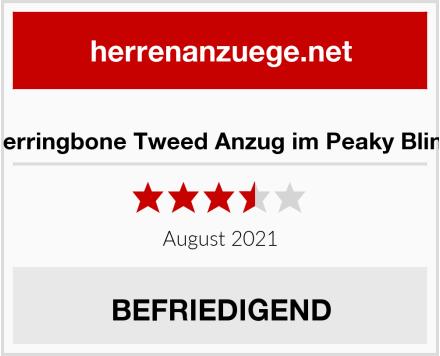 Xposted Herringbone Tweed Anzug im Peaky Blinders Style Test