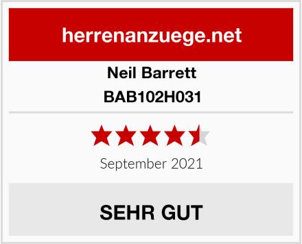 Neil Barrett BAB102H031 Test