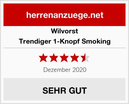 Wilvorst Trendiger 1-Knopf Smoking Test