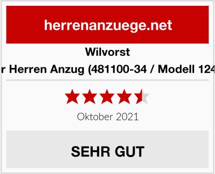Wilvorst Festlicher Herren Anzug (481100-34 / Modell 12482 224-2) Test