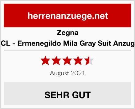 Zegna CL - Ermenegildo Mila Gray Suit Anzug Test