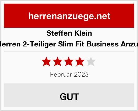 Steffen Klein Herren 2-Teiliger Slim Fit Business Anzug Test