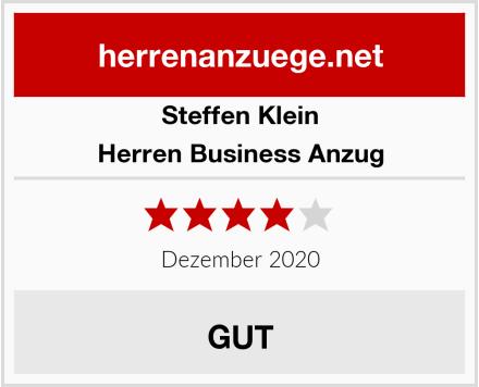 Steffen Klein Herren Business Anzug Test