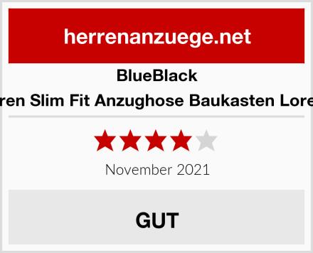 BlueBlack Herren Slim Fit Anzughose Baukasten Lorenzo Test