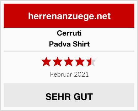 Cerruti Padva Shirt Test