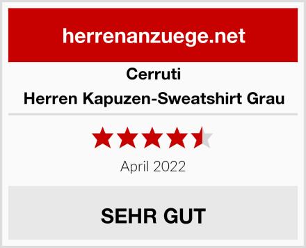 Cerruti Herren Kapuzen-Sweatshirt Grau Test